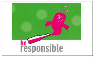 "Link zu ""be responsible"""